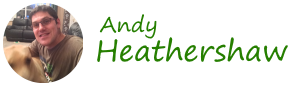 Site logo for Andy Heathershaw